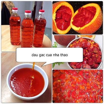 Vietnamese Gac Oil