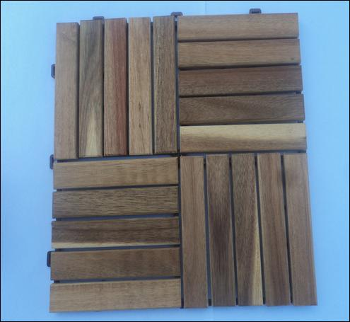 Vietnamese Outdoor Acacia Decking Tile
