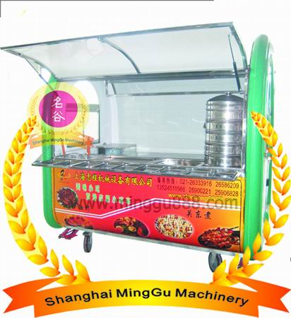 Villa Type Food Cart Snack Ce Iso Approval