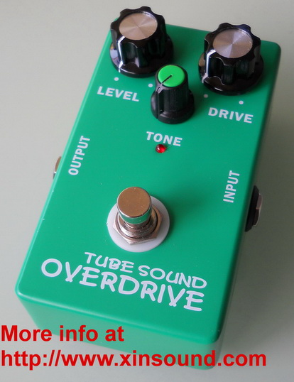 Vintage Original Tube Screamer Overdrive Effects Pefal
