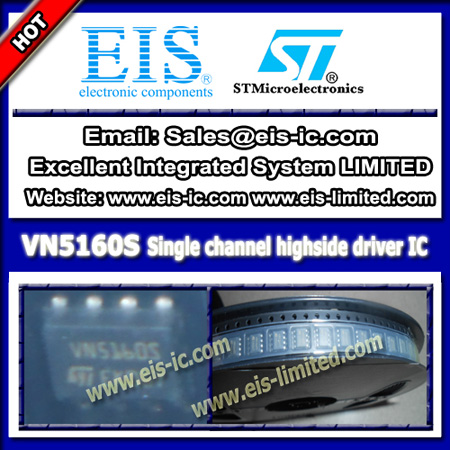 Vn5160s Stmicroelectronics Ic Driver Highside For Automotive Applications Soic 8
