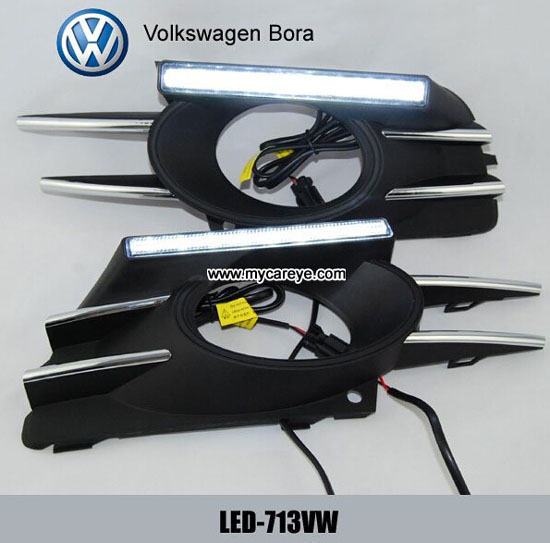 Volkswagen Bora Drl Led Daytime Running Lights Auto Driving Daylight