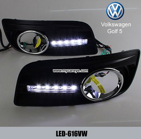 Volkswagen Vw Golf 5 Gti Gt Drl Led Daytime Running Light Car Retrofit