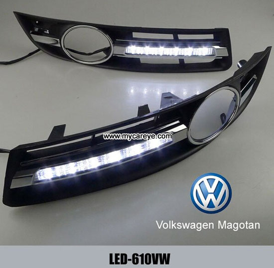 Volkswagen Vw Magotan Drl Led Daytime Running Light Car Parts Upgrade