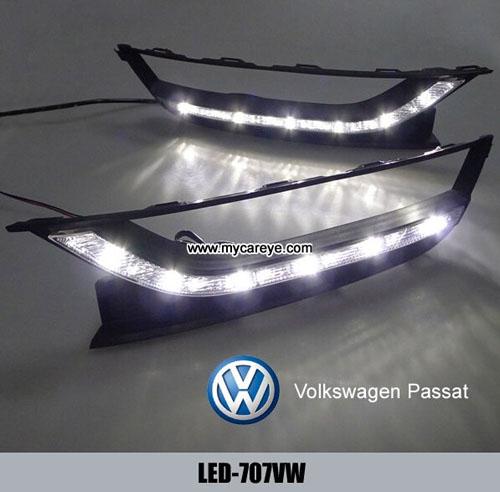 Volkswagen Vw Passat 11 14 Drl Led Daytime Running Lights Car Driving Daylight