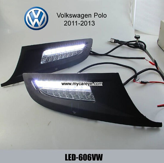 Volkswagen Vw Polo Drl Led Daytime Running Lights Car Turn Light For Sale