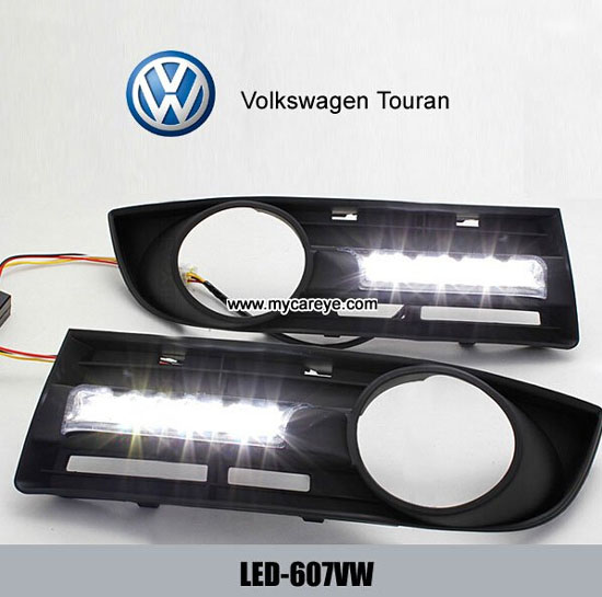 Volkswagen Vw Touran Drl Led Daytime Running Light Turn Signal Indicators