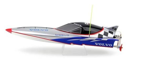 Volvo Nitro Fiberglass Racing Boat W Hitec Aggressor Remote Hs 311 Servo