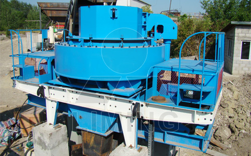 Vsi Sand Making Machine The Patented Product
