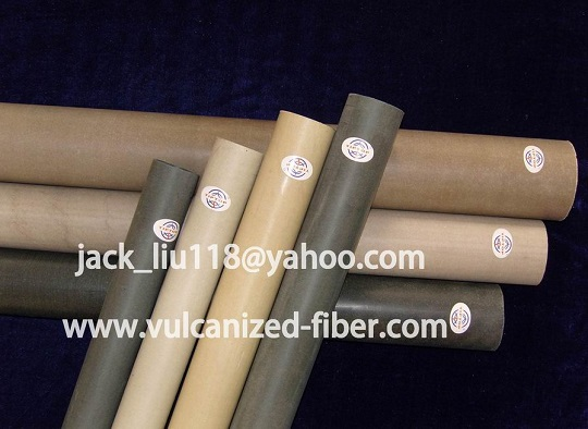 Vulcanized Fibre Tube Tubing Arch Quenching