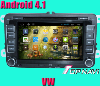 Vw Car Dvd Player With Android 4 1 Version A9 Dual Core 1ghz Cpu Processor And Ddr3 1g Ram 8gb Inand