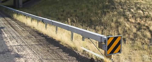 W Beam Guardrail With High Cost Effectiveness