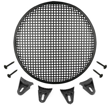 Waffle Speaker Grilles For Subwoofers