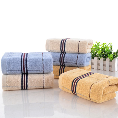 Waffle Towels Navy