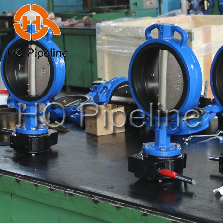 Wafter Type Butterfly Valve