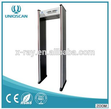 Walk Through Metal Detector Door For Security Check With Single Zone