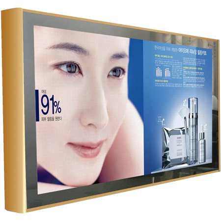 Wall Mounted Lcd Advertising Display
