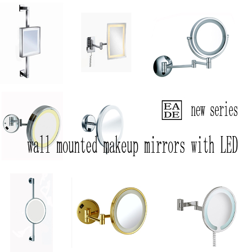 Wall Or Table Lighting Mirror