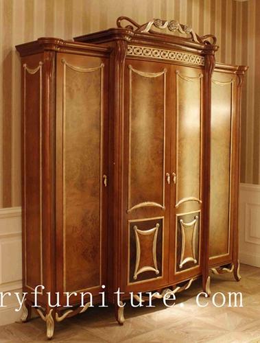 Wardrobe Home Doors France Style Closet Wood Fcd 128