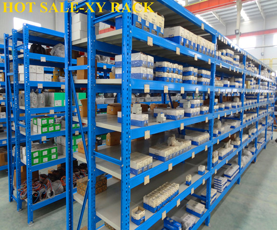 Warehouse Storage Metal And Steel Long Span Shelving Shelves
