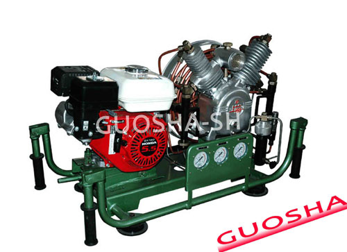 Warship High Pressure Air Compressor 300 Bar 200 30 Mpa 20 100l Min 440v 60hz 380v 50hz