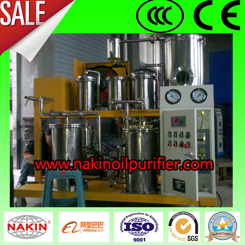 Waste Cooking Vagetable Oil Purifier Purification