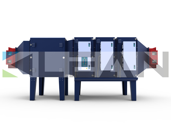 Waste Gas Filtration And Oil Fume Collection Esp Electrostatic Precipitator