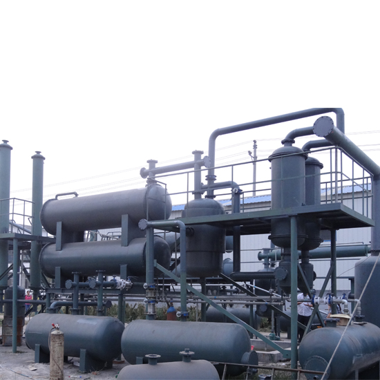 Waste Plastic To Oil Machine By Pyrolysis