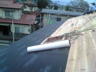 Water Resistant Vapor Permeable Sloped Roof Underlay