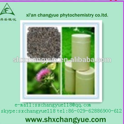Water Soluble Silymarin Powder Milk Thistle Extract
