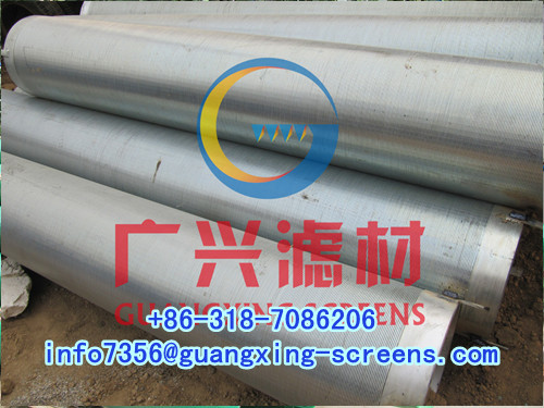 Water Well Drilling Filter Screen Sand Tube