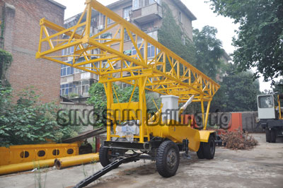 Water Well Drilling Rig Sino Drillrig