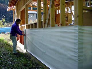 Waterproof Breathable Housewrap Foils