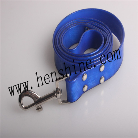Waterproof Cold Resistant Deep Blue Dog Leash For Training