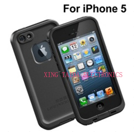 Waterproof Shockproof Snowproof Dirtproof Case For Iphone 4 5 With Gift Box Packing And Ipx68