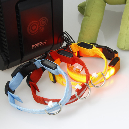 Waterproof Usb Rechargeable Dog Collars Collar Led