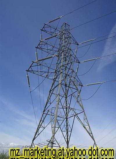 We Supply Power Transmission Pylon