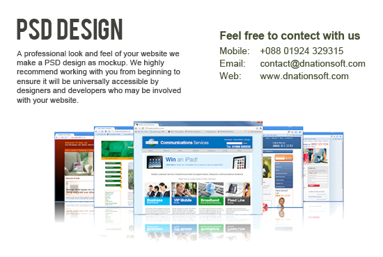 Website Psd Design
