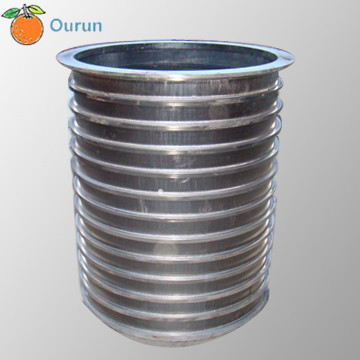 Wedge Wire Basket Slotted Pressure Screen