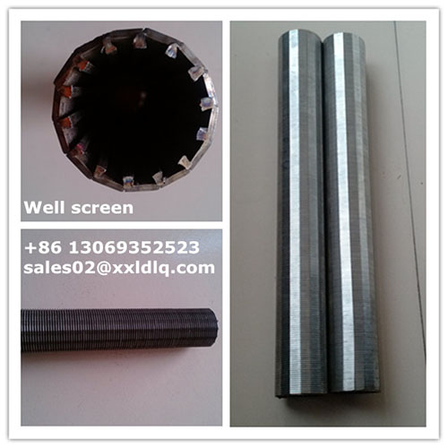 Wedge Wire Screen Cylinder Filter