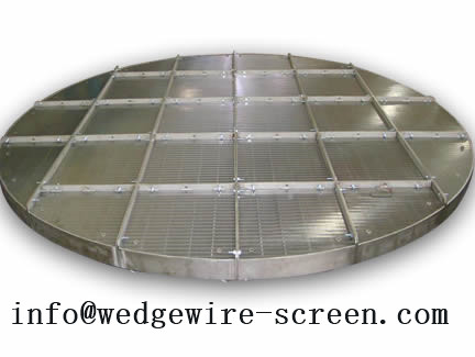 Wedge Wire Screen Support Grid