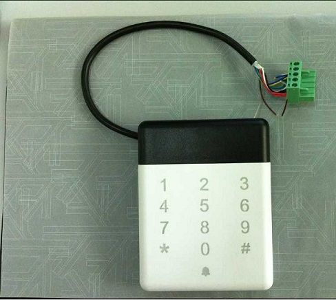 Weds Ip64 Waterproof Access Control Card Reader For Door Secuirty