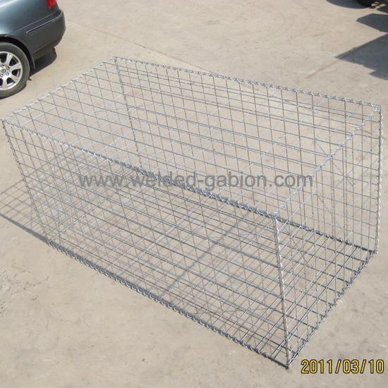 Welded Mesh Gabions Wire Gabion Cage