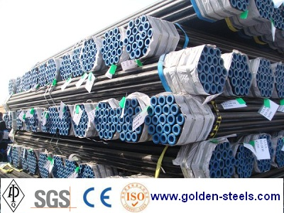 Welded Tube Rhs Pipe A252 Piling Erw Tubing Round