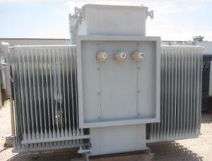 Westinghouse 2 500 Kva Oil Filled Substation Transformer Primary Side 12470 Volts 5 Taps Secondary 4