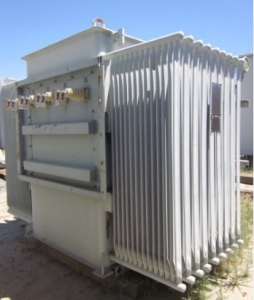 Westinghouse 5 000 Kva Oil Filled Substation Transformer Primary Side 12470 Volts Taps Secondary 416