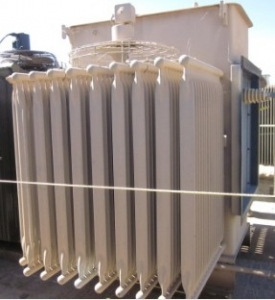 Westinghouse2 000 Kva Oil Filled Substation Transformer Primary Side 12470 Volts 5 Taps Secondary 48