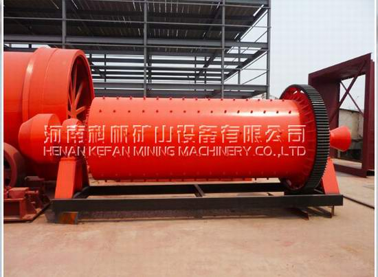 Wet Ball Mill S Application
