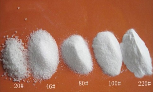 White Aluminium Oxide Grits F8 F220