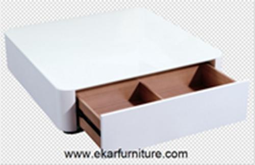 White Coffee Table Modern Wood Ot806m Ot806g